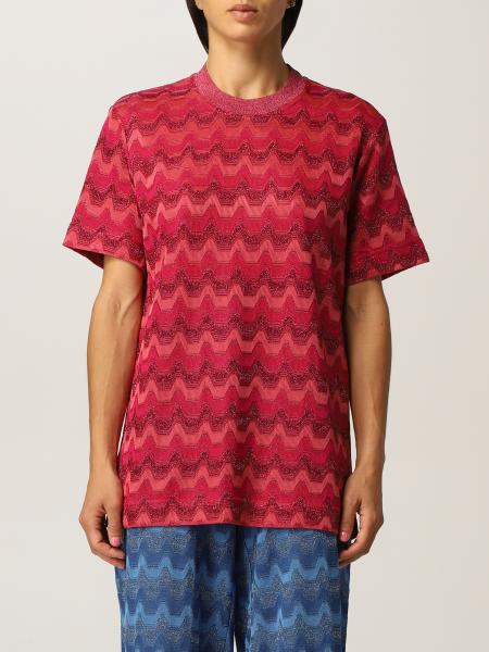 Missoni women: M Missoni sweater in cotton blend knit