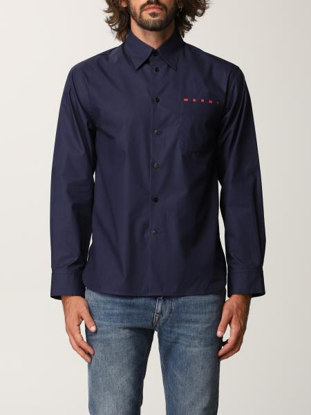 Marni: Рубашка Мужское Marni