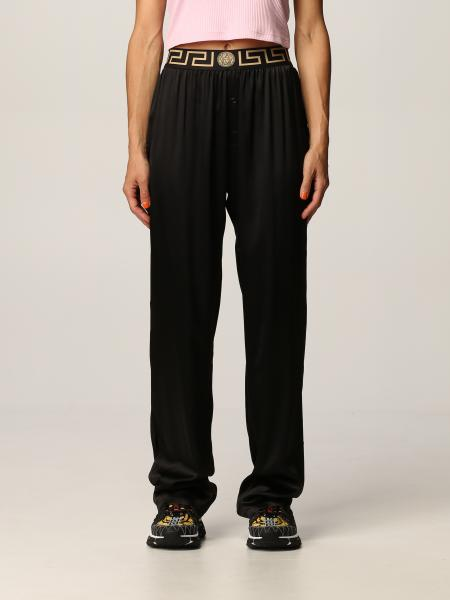 Pantalone pigiama Versace in seta