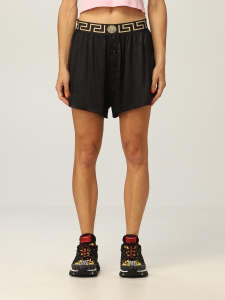 Pantaloncino pigiama Versace in seta