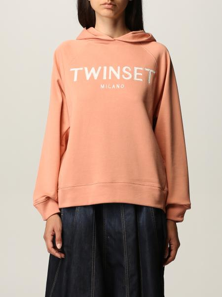 Sweatshirt damen Twin Set Actitude