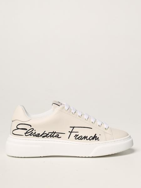 Elisabetta Franchi: Sneakers Elisabetta Franchi in pelle