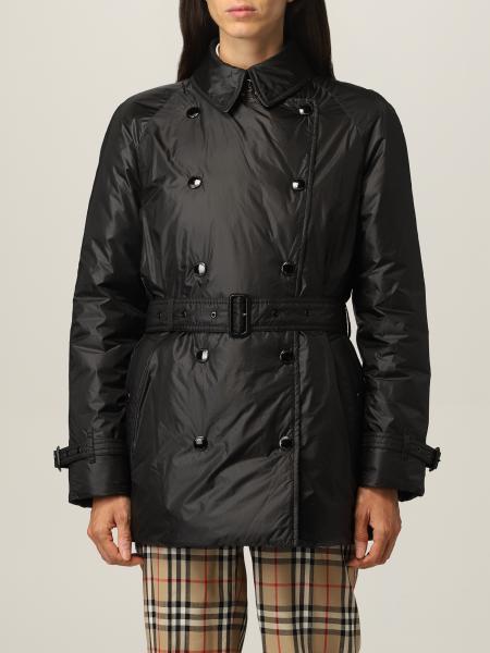 Burberry trench coat in padded nylon