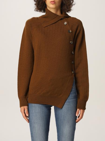 Kenzo donna: Maglia Kenzo asimmetrica in lana