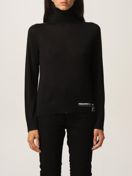 Dsquared2 wool polo neck