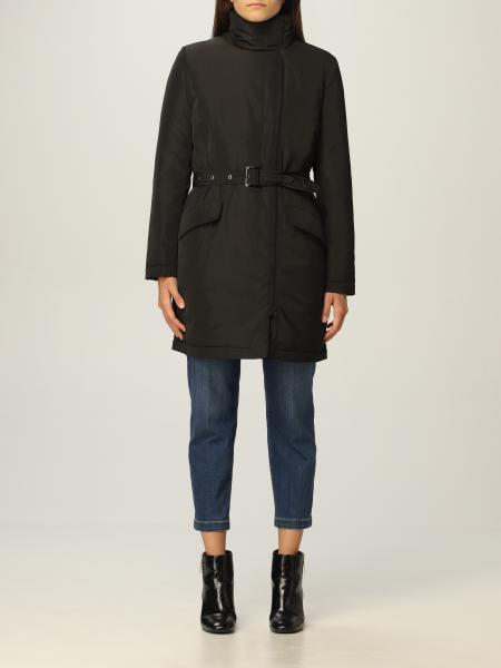 Love Moschino women: Love Moschino down jacket in technical fabric