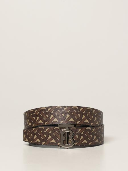 Burberry belt in E-canvas with TB buckle