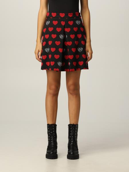 Love Moschino skirt with hearts