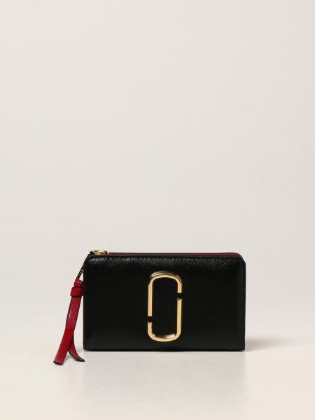 Portafoglio The Snapshot Marc Jacobs in pelle saffiano