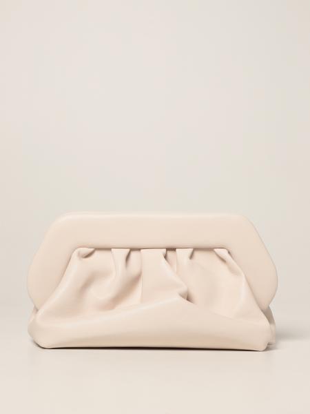 Themoirè: Bios basic clutch bag in Themoirè nappa