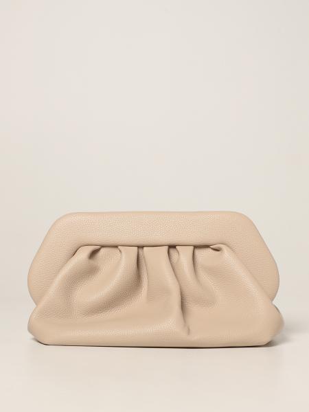 Themoirè: Bios Themoirè pochette in eco-friendly grained leather