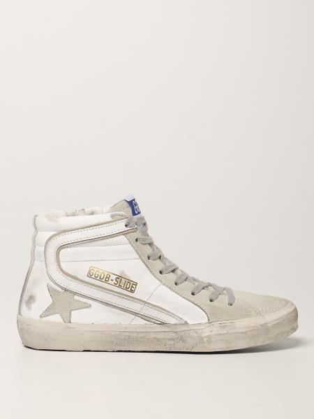 Sneakers Slide classic Golden Goose in pelle