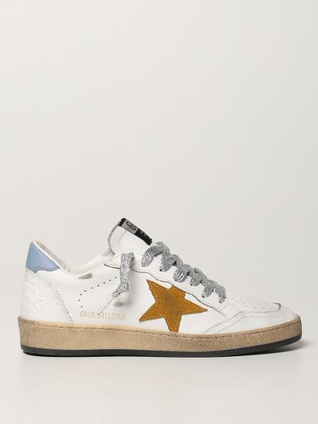 Sneakers Ball Star Golden Goose in pelle