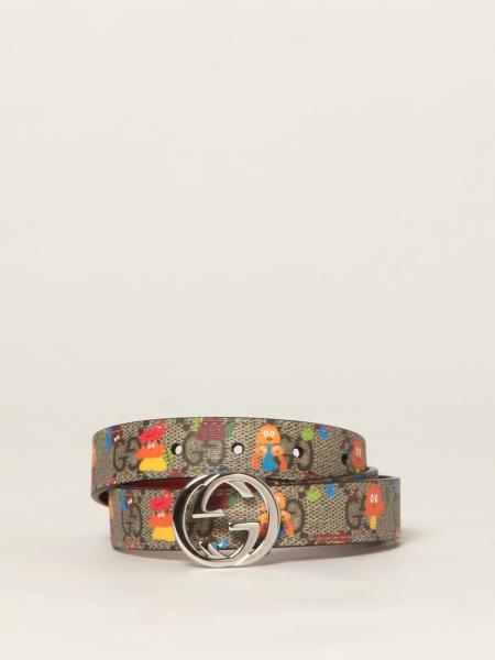 Cinturón niños Gucci
