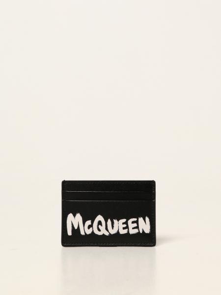 Alexander Mcqueen femme: Portefeuille femme Alexander Mcqueen