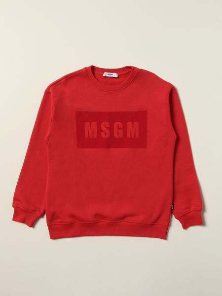 Felpa Msgm Kids con logo