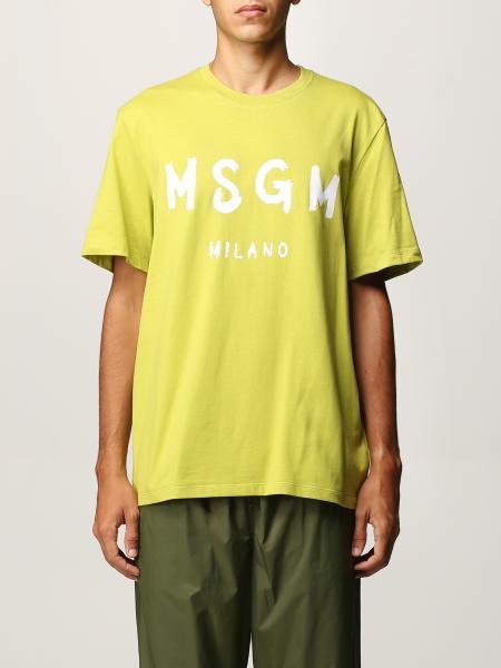 Msgm uomo: T-shirt uomo Msgm