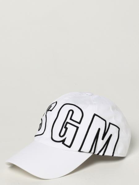 Msgm baseball cap with logo