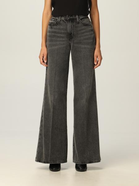 Frame: Jeans Frame ampio in cotone riciclato