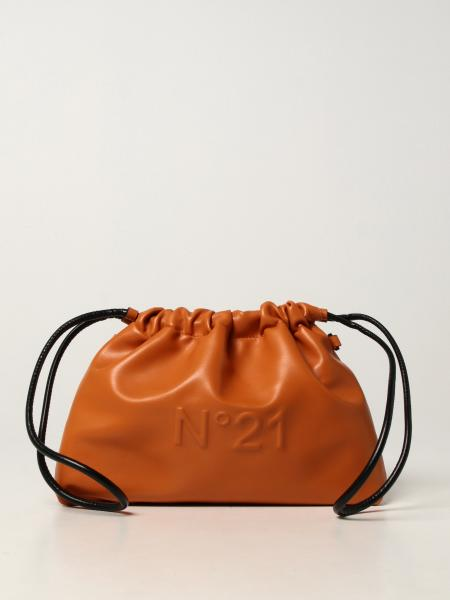 N ° 21 bag in synthetic leather with logo