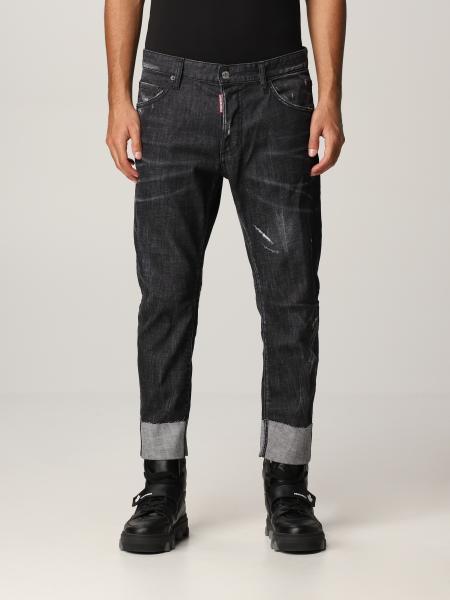 Jeans Sailor Dsquared2 in denim washed