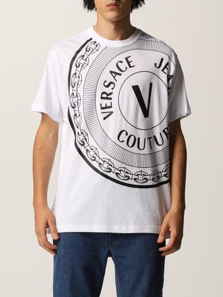 Versace Jeans Couture men: Versace Jeans Couture cotton t-shirt with print