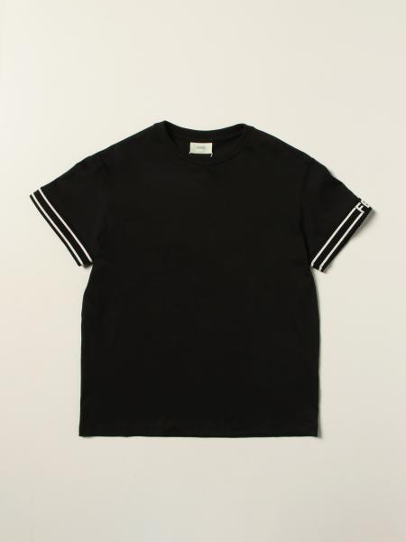 Fendi: T-shirt Fendi in cotone con logo