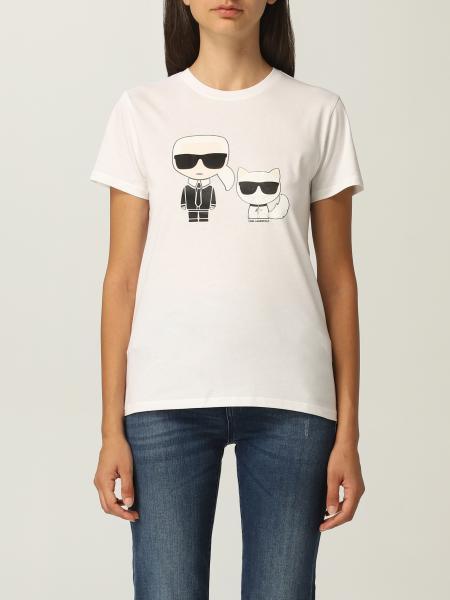 Karl Lagerfeld: T-shirt women Karl Lagerfeld