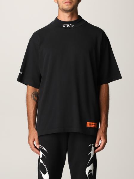 T-shirt Heron Preston in cotone con logo