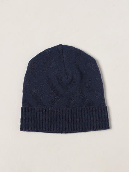 Fendi bobble hat with all-over FF logo