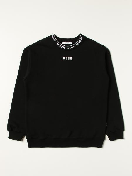Msgm Kids sweatshirt with logo