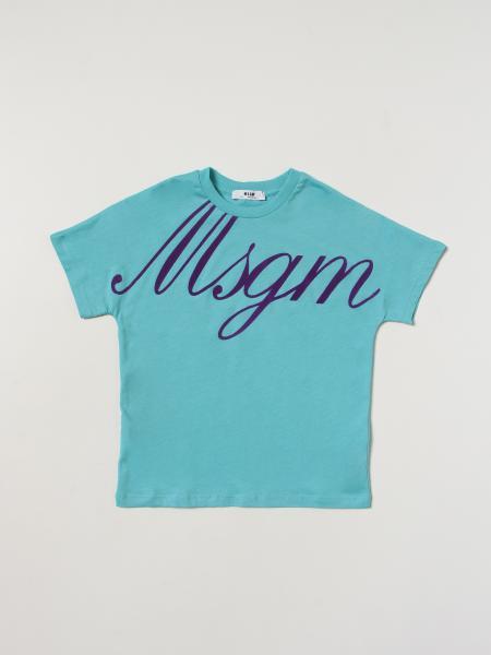 Msgm: T-shirt enfant Msgm Kids
