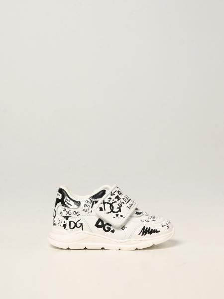 Dolce & Gabbana trainers in printed leather