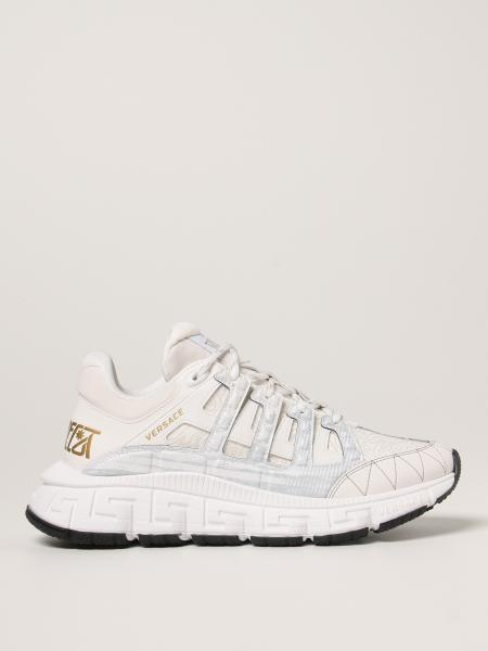 Trigreca Versace lace-up trainers