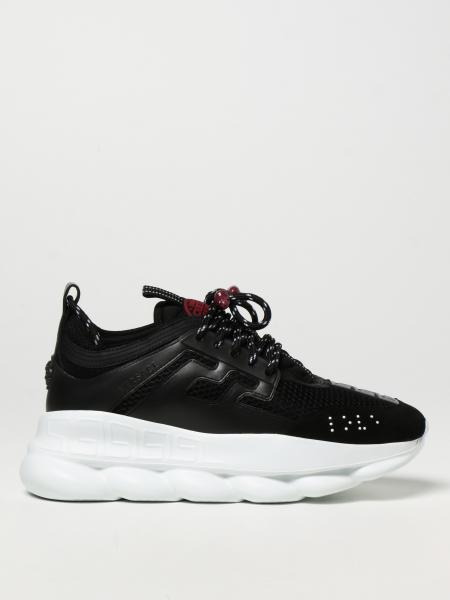 Chain Reaction Versace trainers in mesh