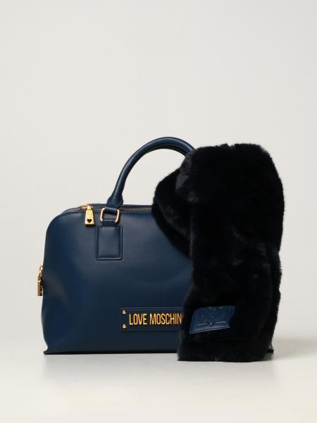 Love Moschino women: Love Moschino bag in synthetic leather