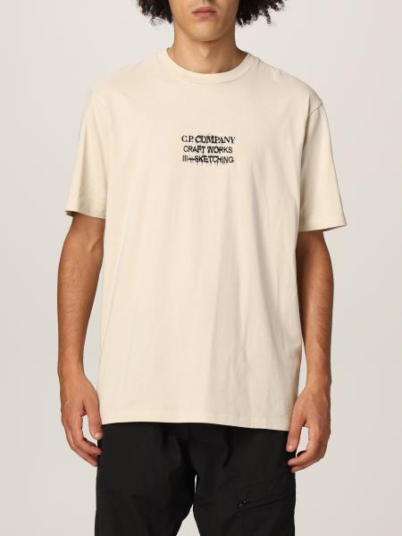 C.p. Company: T恤 男士 C.p. Company