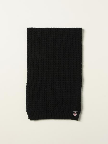 Sciarpa Colmar in maglia con spilla logata
