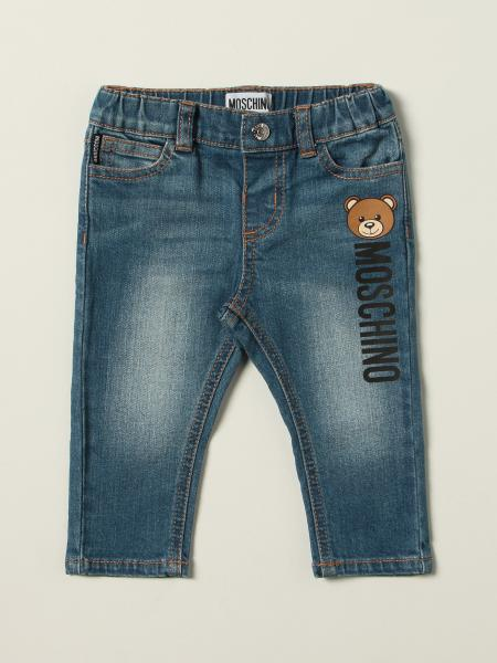 Jeans Moschino Baby con teddy