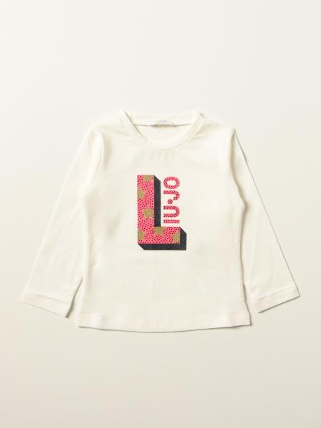 Liu Jo T-shirt with rhinestone logo