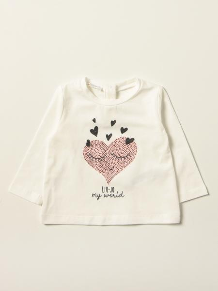 Liu Jo T-shirt with rhinestone heart