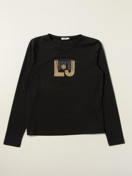 Liu Jo T-shirt with lurex logo