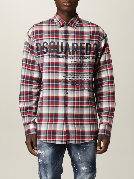Chemise homme Dsquared2