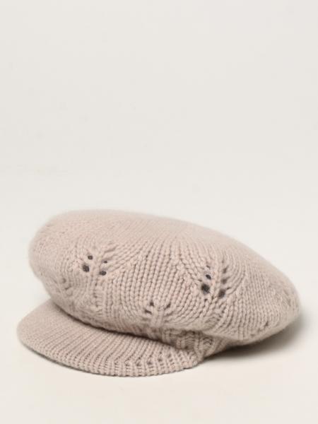 Max Mara: Cappello in maglia Max Mara