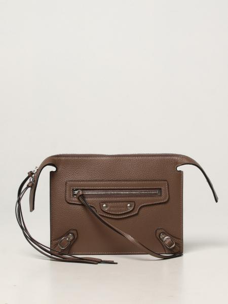 Balenciaga women: Balenciaga pouch / bag in textured leather