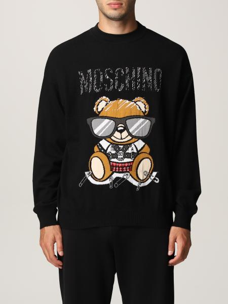 Moschino Couture wool sweater with Teddy