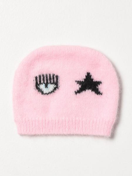 Chiara Ferragni bobble hat in Angora blend