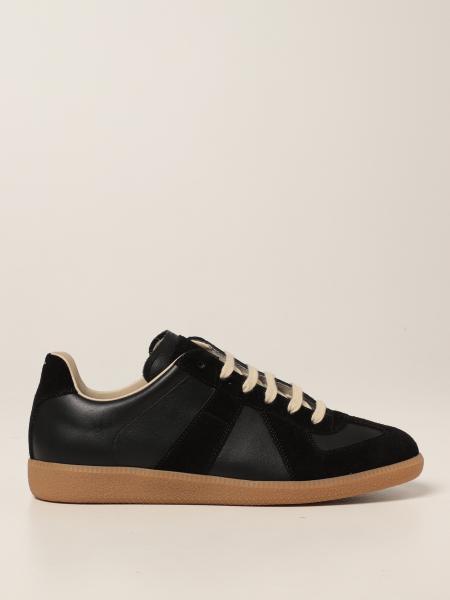 Maison Margiela uomo: Sneakers Replica Maison Margiela in pelle