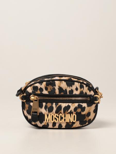 Moschino Couture crossbody bags in animalier nylon