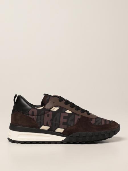 Dsquared2 uomo: Sneakers Dsquared2 in nylon monogram